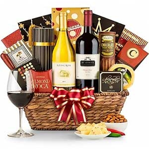 Hot New Wine Gift Basket Deals
