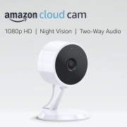 Hot New Security and Surveillance Deals Amazon Cloud Cam Security Camera, Works with Alexa