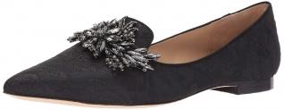 Hot New Ladies Designer Shoe Deals For Less $137.79 Badgley Mischka Women's Mandy Loafer Flat
