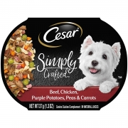 Hot New Pet Products $13.90 Cesar Simply Crafted Wet Dog Food – 1.3Oz Trays (Pack Of 10)