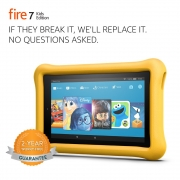 Hot New Tablet Deals $99.99 Fire 7 Kids Edition Tablet, 7″ Display, 16 GB, Yellow Kid-Proof Case