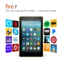 Hot New Tablet Deals $39.99 Fire 7 Tablet with Alexa, 7″ Display, 8 GB, Canary Yellow – with Special Offers