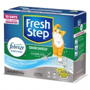Hot New Pet Products $11.99 Fresh Step Scented Litter with The Power of Febreze, Clumping Cat Litter, 20 Pounds