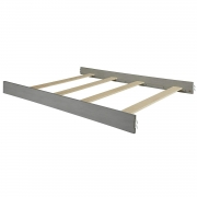 Hot New Baby Nursery Furniture Deals Full Size Conversion Kit Bed Rails for Oxford Baby Richmond Crib – Brushed Gray