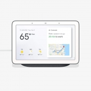 Hot New Smart Home Deals $98.45 Home Hub with Voice-Activated Assistant – 7″ Smart Touchscreen (Charcoal Gray)