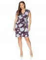 Plus Size Work Dresses for Women Hot Office DressesLark & Ro Women's Plus-Size Classic Cap-Sleeve Wrap Dress $39.00,