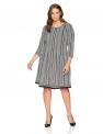Plus Size Work Dresses for Women Hot Office DressesLark & Ro Women's Plus Size Three Quarter Sleeve Dress $49.00,