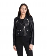 Hot New Women Leather Jacket Deals $68.53 Levi's Women's Contemporary Asymmetrical Motorcycle Jacket