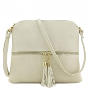Hot New Designer Handbag Deals $9.99 Lightweight Medium Crossbody Bag with Tassel