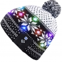 Hot New Holiday Gift Deals $23.99 Mydeal Stylish Unisex Men Women LED Light Up Beanie Hat Cap for Indoor, Outdoor Sports, Skiing, Snowboard, Walking, Leisure, Festival, Holiday, Celebration, Parties, Birthday, Bar,Christmas Gift
