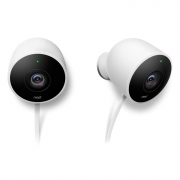Hot New Security and Surveillance Deals Nest Cam Outdoor Security Camera 2 pack, Works with Alexa