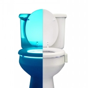Hot New Tech Gift Deals $12.95 RainBowl Motion Sensor Toilet Night Light – Funny & Unique Birthday Gift Idea for Dad, Mom, Him, Her, Men, Women & Kids – Cool New Fun Gadget, Best Easter Gag Present