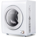 Hot New Dryer Deals $239.99 Sentern 2.65 Cu.Ft Compact Laundry Dryer – 8.8 LBS Capacity Portable Clothes Dryer with 1400W Drying Power (White)