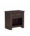 Hot New Baby Nursery Furniture Deals $138.82 Stylistics Hartford Nightstand, 27″ x 16″ x 27″, Dark Brown