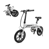 Hot New Electric Bicycle Deals $499.99 SwagCycle EB-5 Pro Lightweight and Aluminum Folding EBike with Pedals, Power Assist, and 36V Lithium Ion Battery; Electric Bike with 14 inch Wheels and 250W Hub Motor
