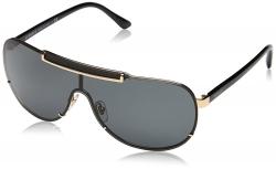 Hot New Designer Sunglasses Deals $115.28 Versace Women's Greca Shield Sunglasses
