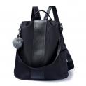 Hot New Designer Handbag Deals $25.99 Women Backpack Purse Waterproof Nylon Anti-theft Rucksack Lightweight School Shoulder Bag