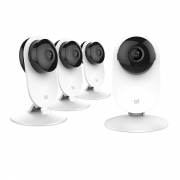 Hot New Security and Surveillance Deals YI 4pc Home Camera, Wi-Fi IP Security Surveillance System with Night Vision for Home, Office, Shop, Baby, Pet Monitor with iOS, Android, PC App – Cloud Service Available